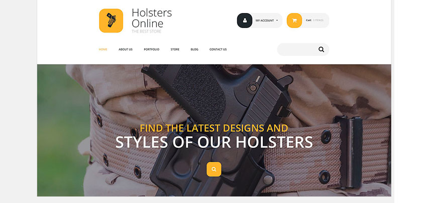 holsters theme woocommerce